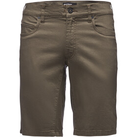 Black Diamond Stretch Font Shorts Herren walnut